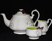 TJ Brown tea set prize